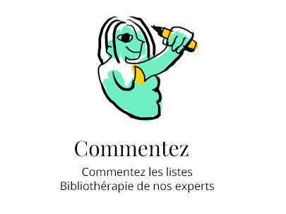 Illustration commenter les bibliothérapies